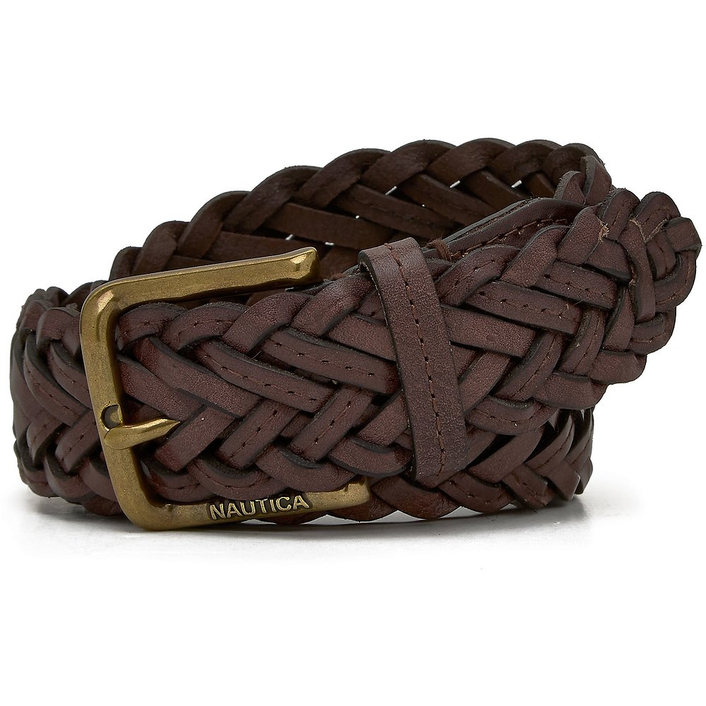 35mm Classic Braided Leather Belt
