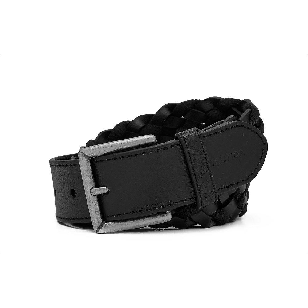 35mm Braided Leather Belt
