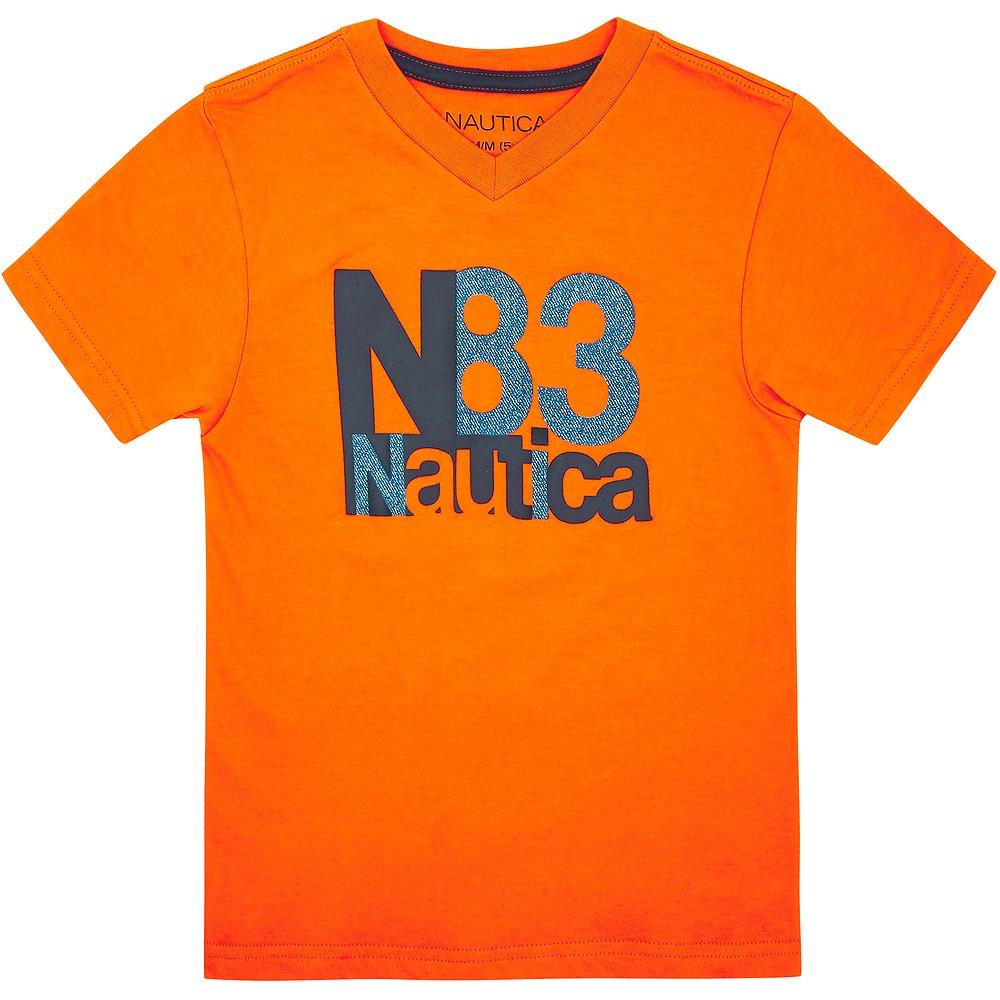 BOYS SHORT SLEEVE V-NECK N83 T-SHIRT