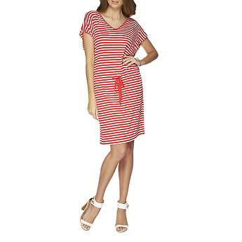 Nautica Short Sleeve Stripe Dress