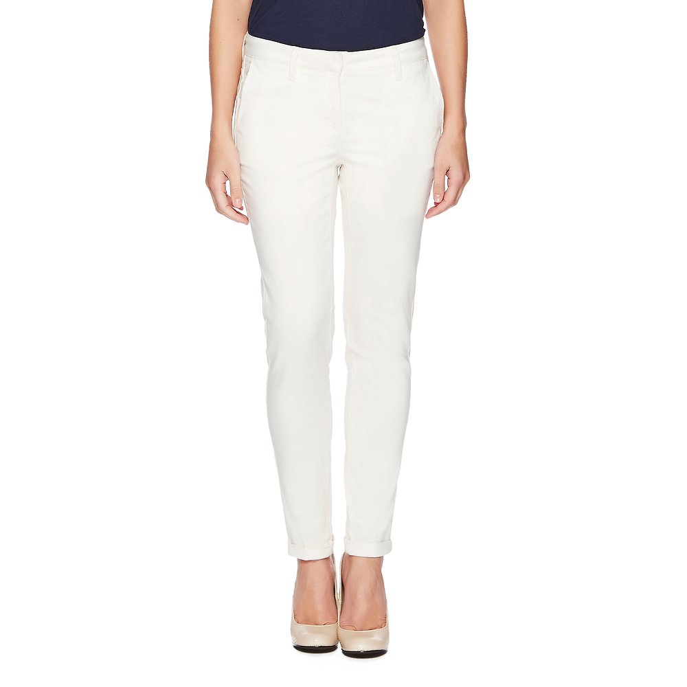 Cuffed Brushed Sateen Pant
