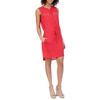 Nautica Sleeveless Drawstring-waist Dress