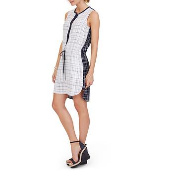 Nautica Sleeveless Printed Combo Dress