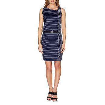 Nautica Pieced Stripe Dress