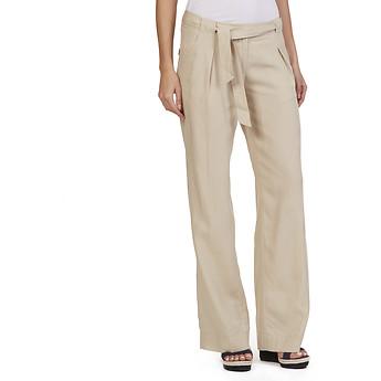 Nautica Wide Leg Linen Tencel Pant
