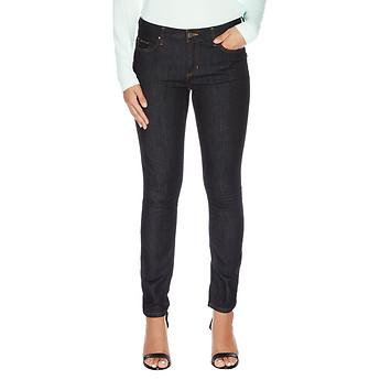 Nautica Five Pocket Dark Denim Straight Leg Jean