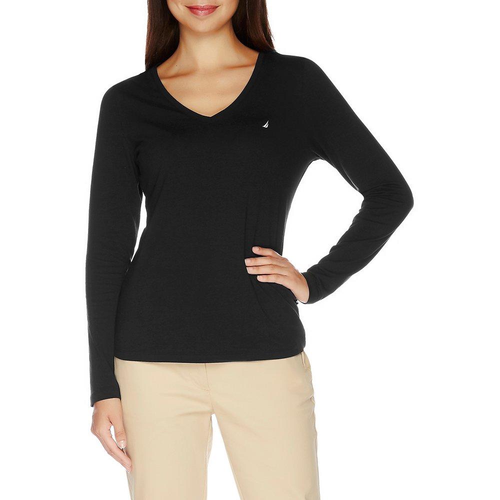 J Class V-Neck Long Sleeve T-Shirt