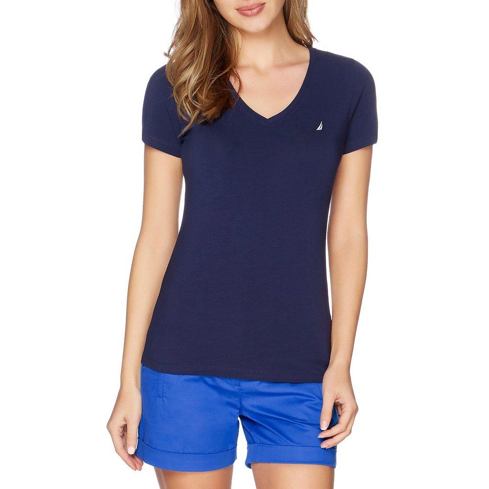Essential Short Sleeve V-Neck T-shirt
