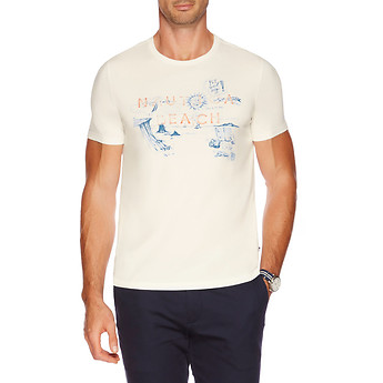 SHORT SLEEVE NAUTICA BEACH T-SHIRT