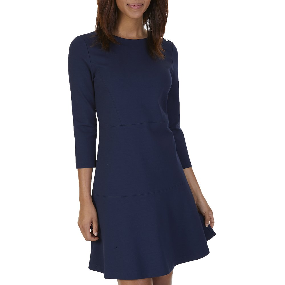 Nautica THREE QUARTER SLEEVE KNIT PONTE DRESS