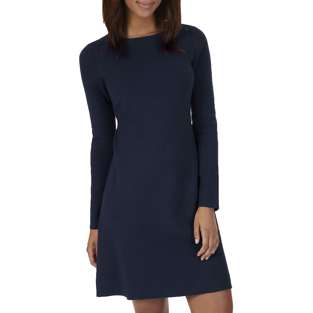 Nautica LONG SLEEVE FLARE SWEATER DRESS