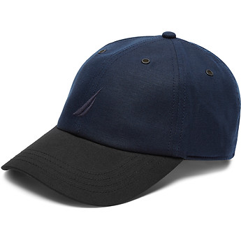 Nautica LINEN BLEND 2-TONE ANCHOR CAP