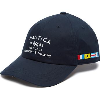 Nautica 6 PANEL FLAG CAP