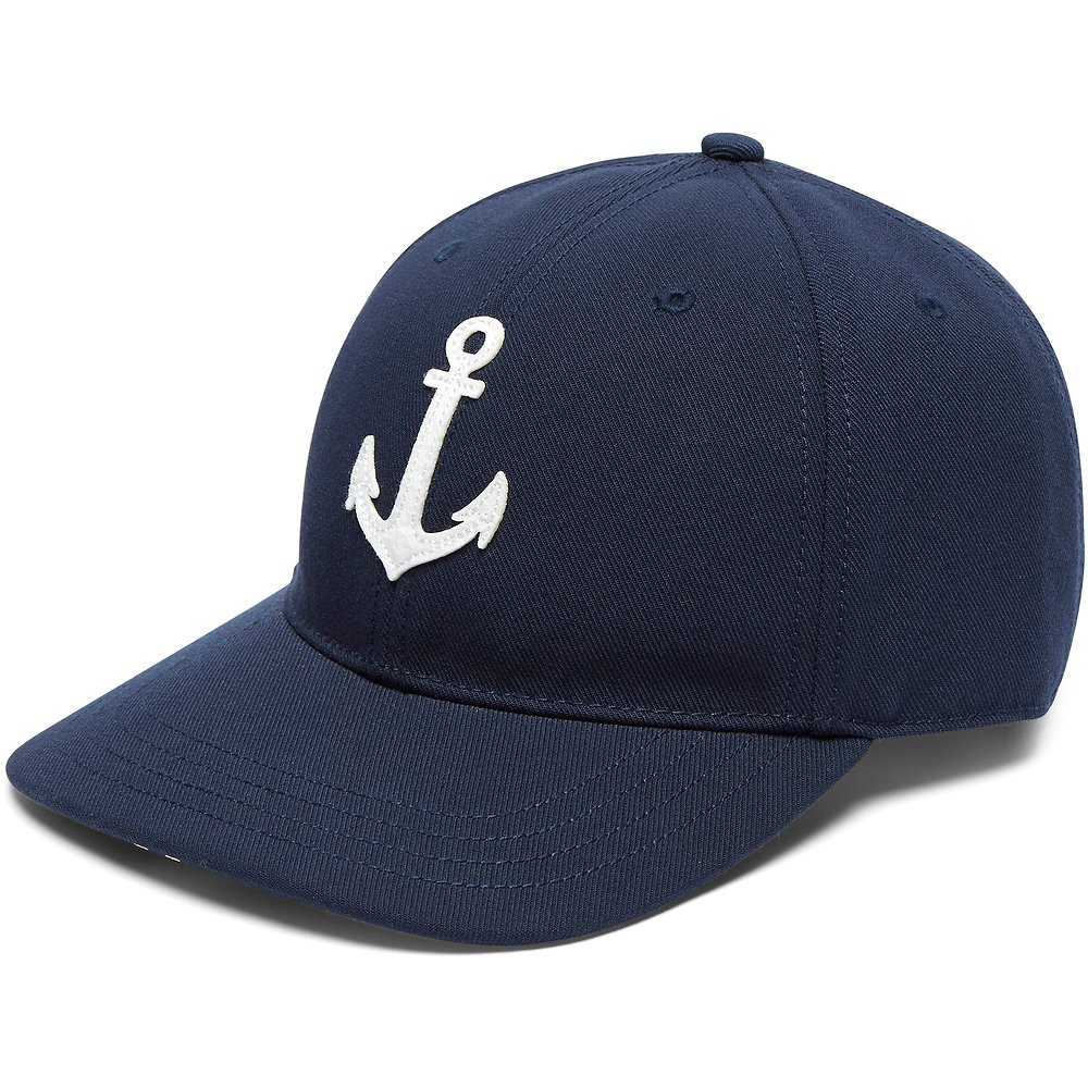 Nautica ANCHOR PATCH 6 PANEL TRUCKER HAT