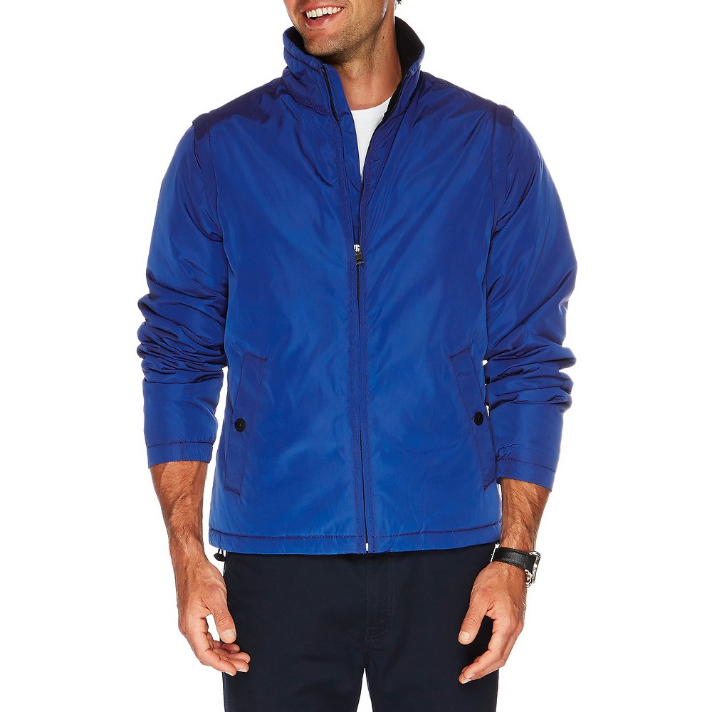 2-IN-1 CONVERTIBLE BOMBER JACKET