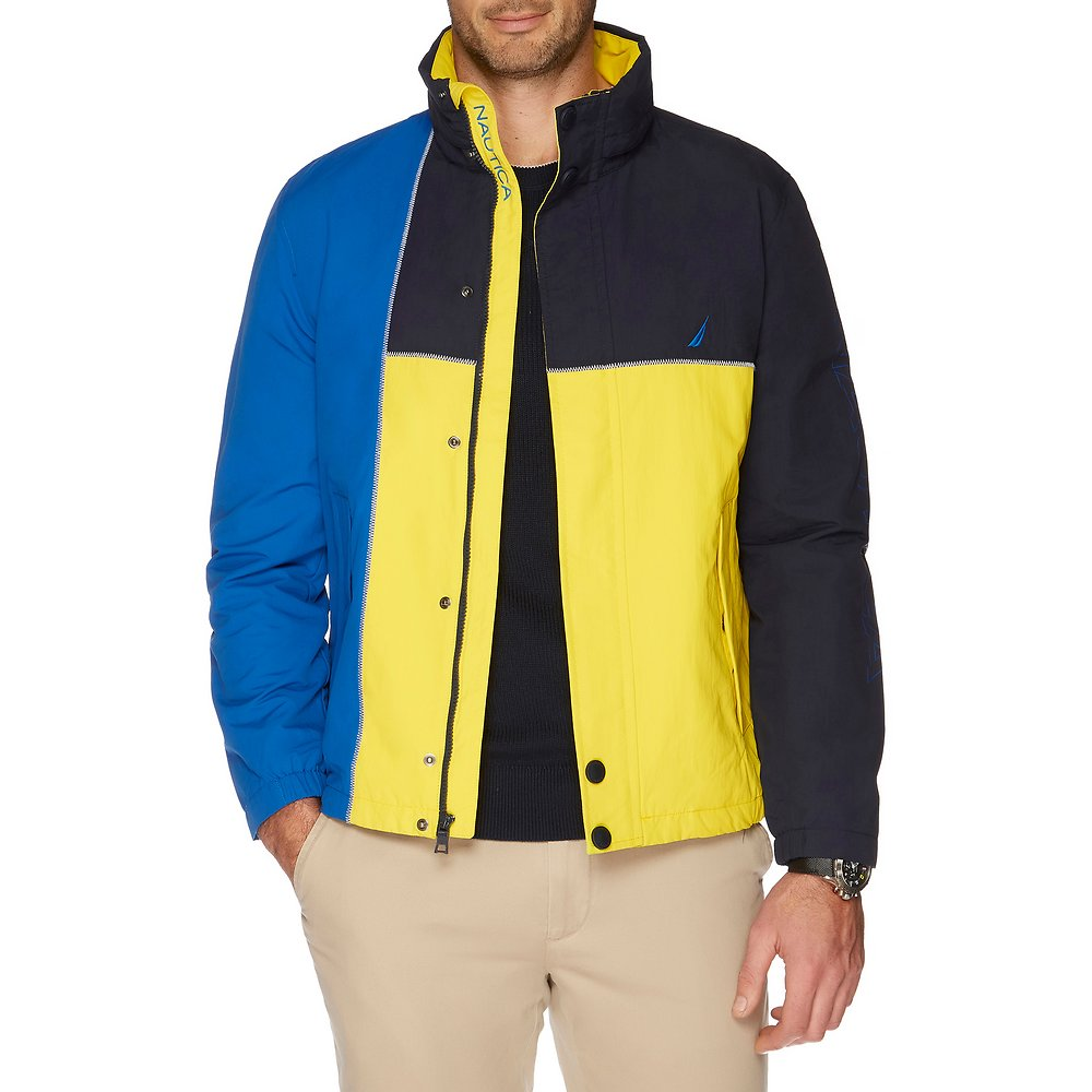 Nautica HERITAGE COLOUR BLOCK JACKET