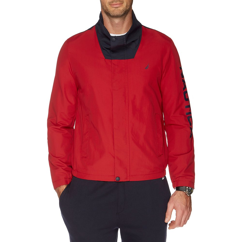Nautica WIDE COLLAR COLOUR BLOCK URBAN JACKET