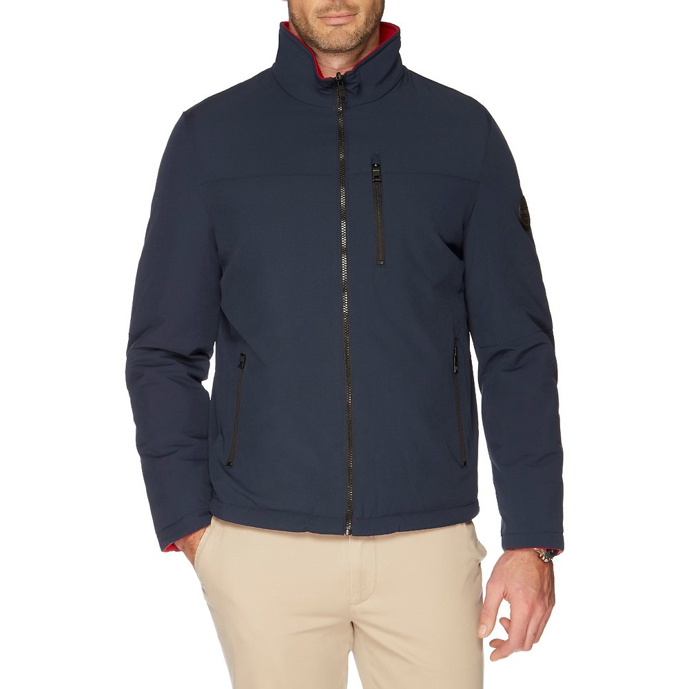 Nautica REVERSIBLE DOWN QUILTED JACKET