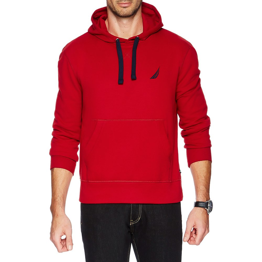 Nautica Hooded Pullover Fleece
