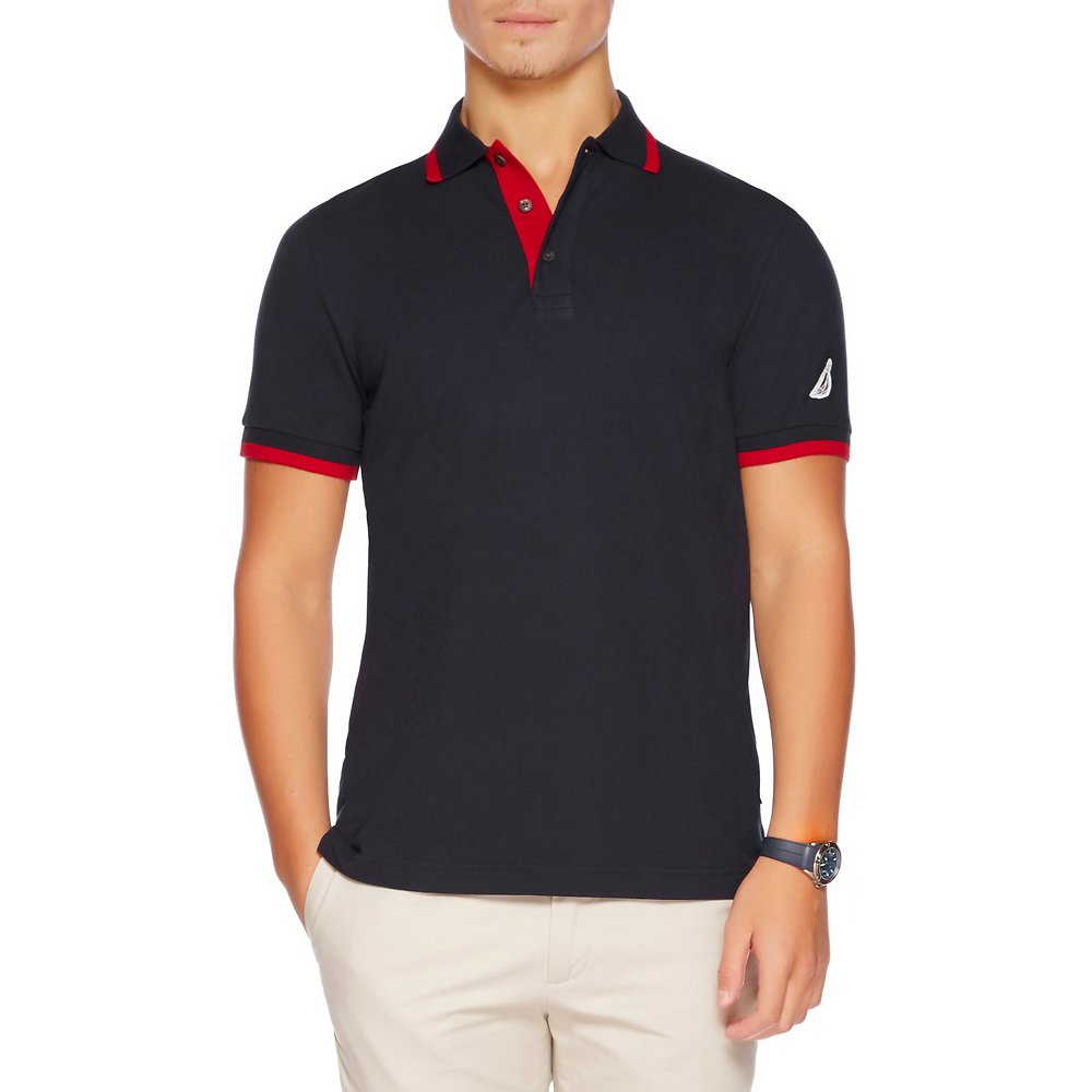 SHORT SLEEVE PERFORMANCE TIPPED SLIM POLO