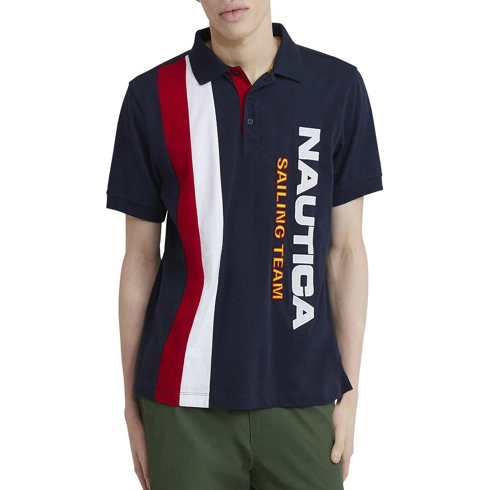 Nautica Lil' Yachty Collection Stripe Logo Polo