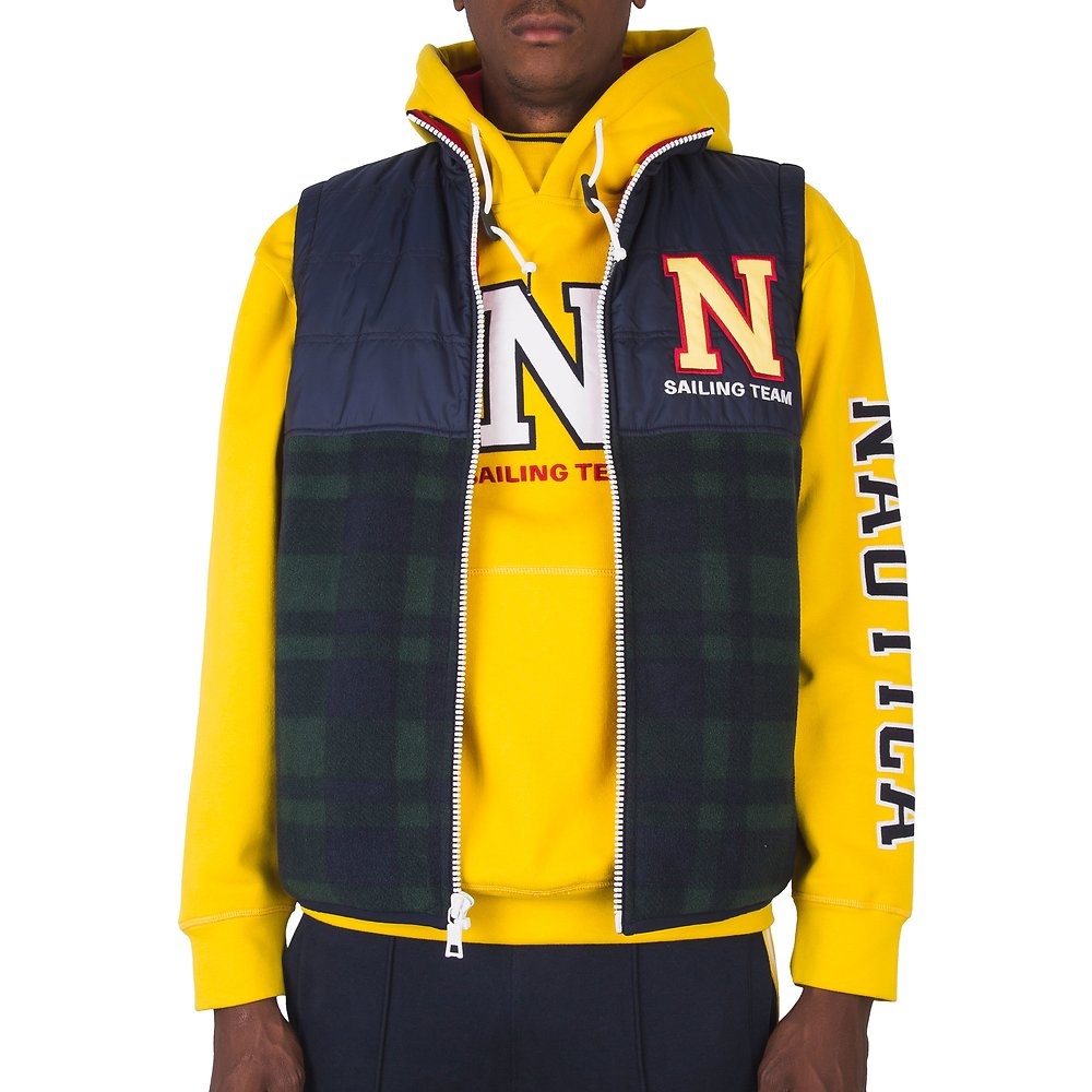 Nautica Lil' Yachty Collection Tartan Fleece Vest