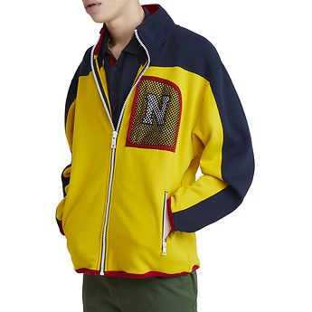 Nautica Lil' Yachty Collection Patch Fleece Top