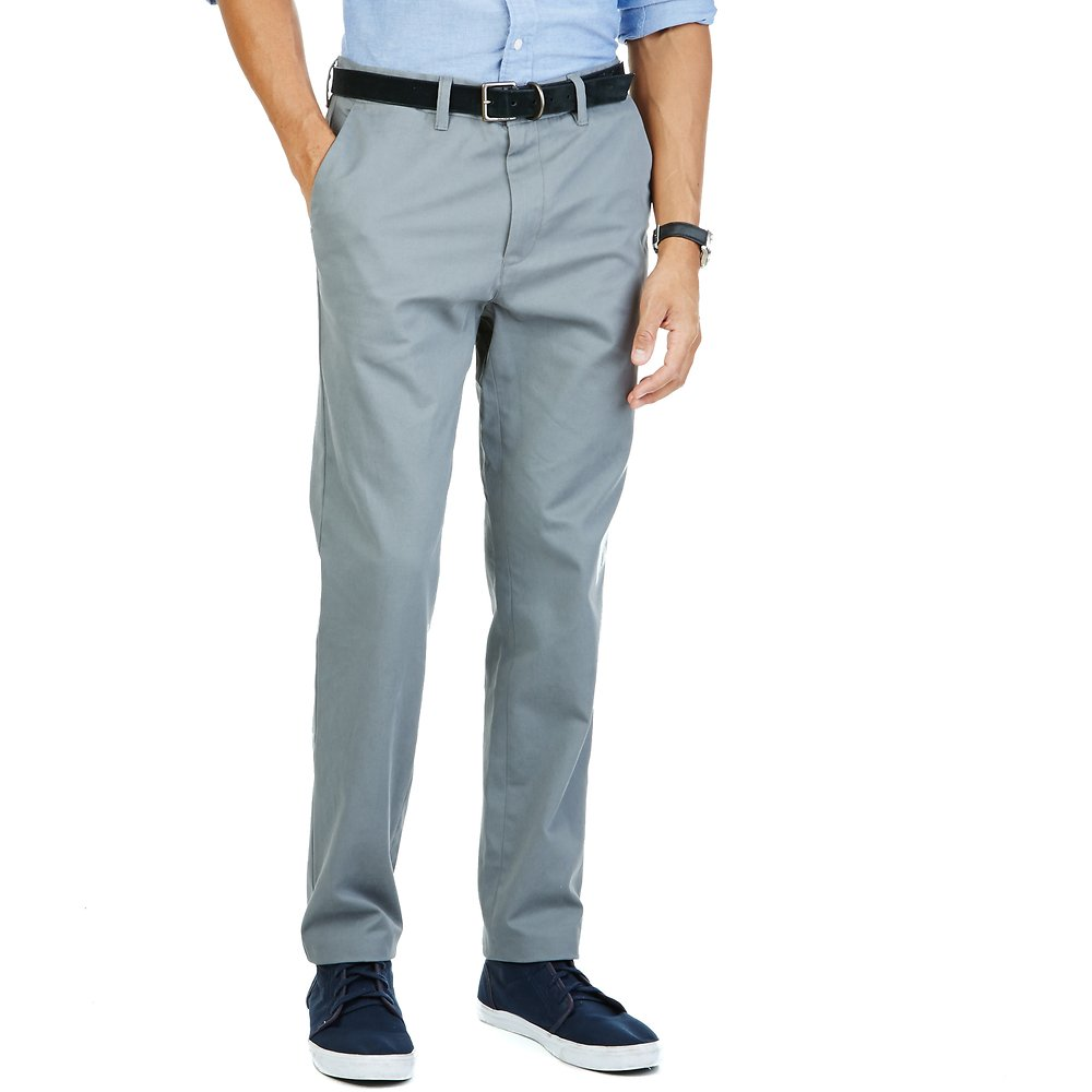 Flat Front Trim Bedford Cord Pant