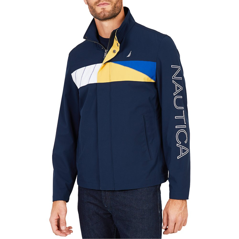 Nautica COLORBLOCK LOGO JACKET