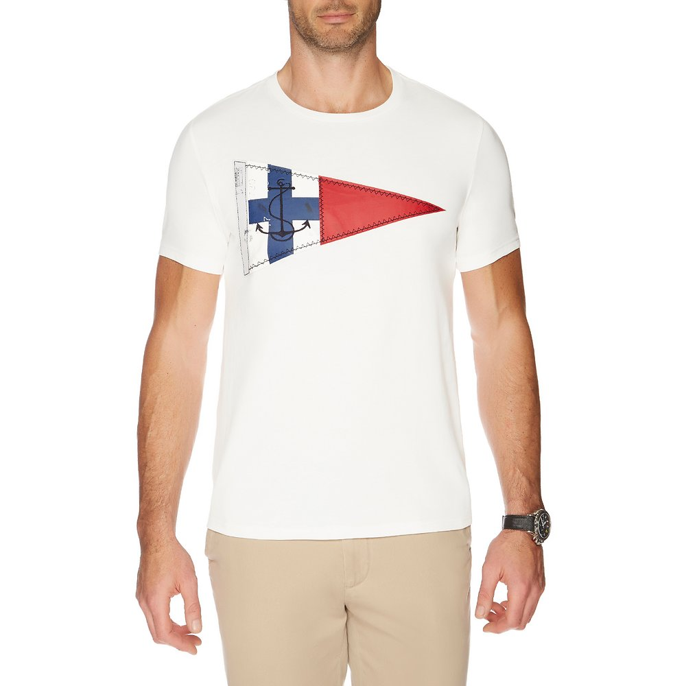 SHORT SLEEVE NAUTICA FLAG GRAPHIC TEE