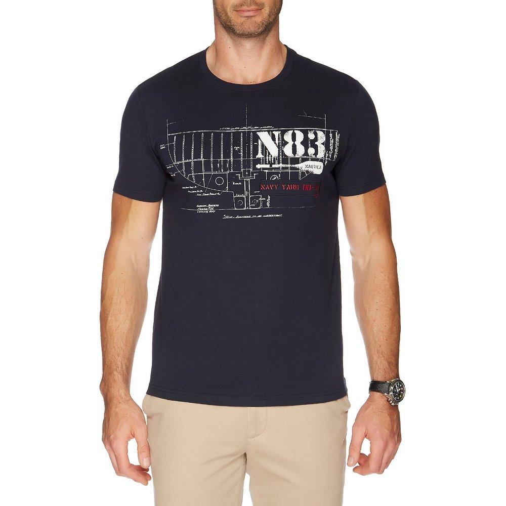 Nautica N83 GRAPHIC SHORT SLEEVE TEE