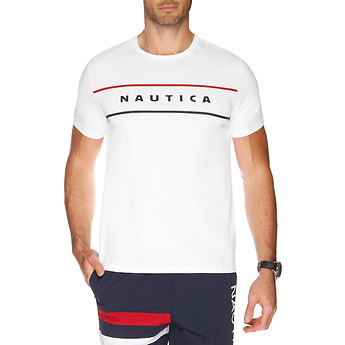 Nautica SHORT SLEEVE CHEST LOGO T-SHIRT