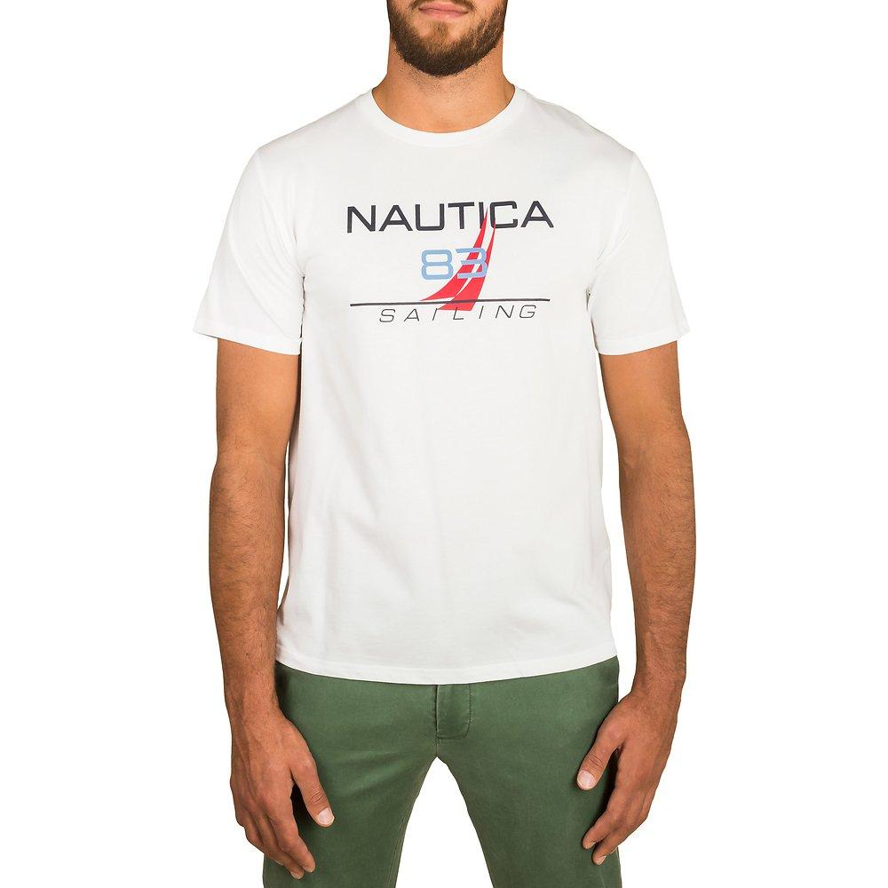 NAUTICA 83 SAILING 83 FLAG SHORT SLEEVE TEE