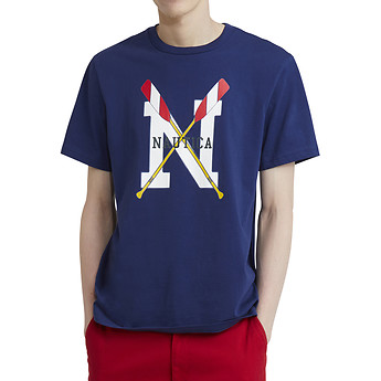 Nautica Lil' Yachty Collection Oar Graphic Tee