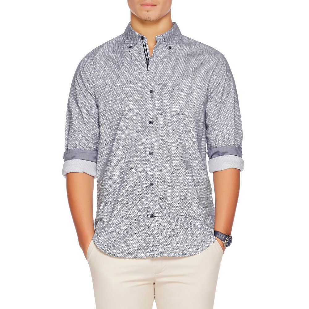 Nautica Long sleeve wrinkle resistant Oxford shirt