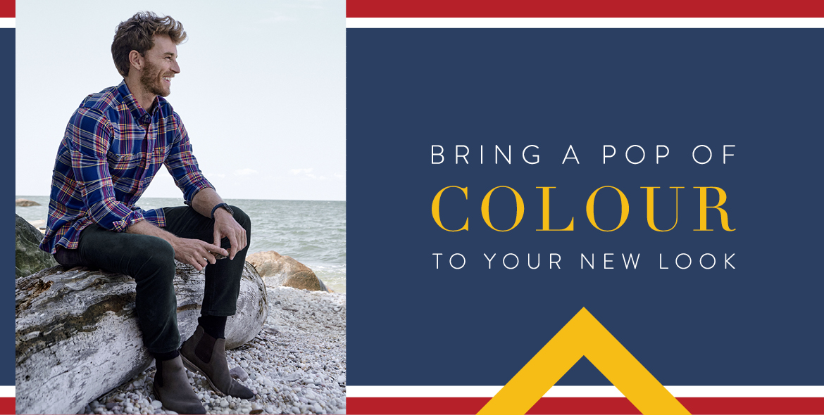 COLOUR TO YOUR NEW LOOK