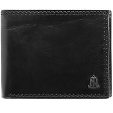 Image of Nautica BLACK Anchor GLOBAL WALLET