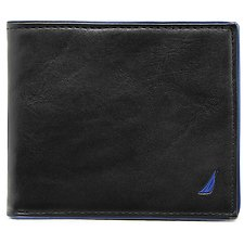 Image of Nautica BLACK J Class GUSSETED CARD CASE