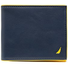 Image of Nautica NAVY J Class GUSSETED CARD CASE