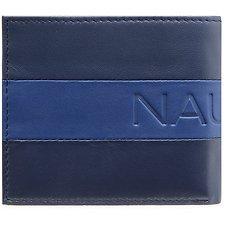 Image of Nautica NAVY NAUTICA block bifold passcase wallet