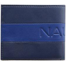 Image of Nautica NAVY NAUTICA block bifold wallet