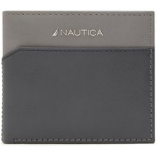 Image of Nautica  BREDAN GLOBAL SLIM PASSCASE