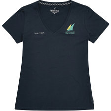 Image of Nautica NAVY Women's Official Australian Sailing Team Short Sleeve T-Shirt
