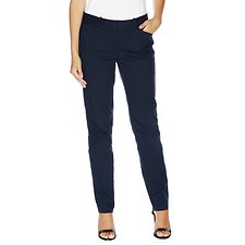 Image of Nautica NAVY SEAS Stretch Cotton Chino Pant