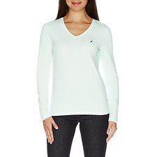 Picture of J Class V-Neck Long Sleeve T-Shirt