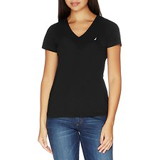 Picture of Essential Short Sleeve V-Neck T-shirt