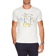 Picture of SHORT SLEEVE CREW NECK 83 FLAGS T-SHIRT