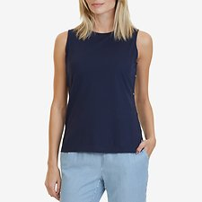 Picture of SLEEVELESS SIDE DETAIL TOP
