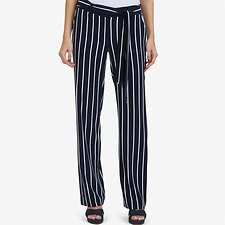 Picture of STRIPED WIDE LEG PANT
