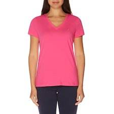 Picture of SHORT SLEEVE SOLID VNECK T-SHIRT